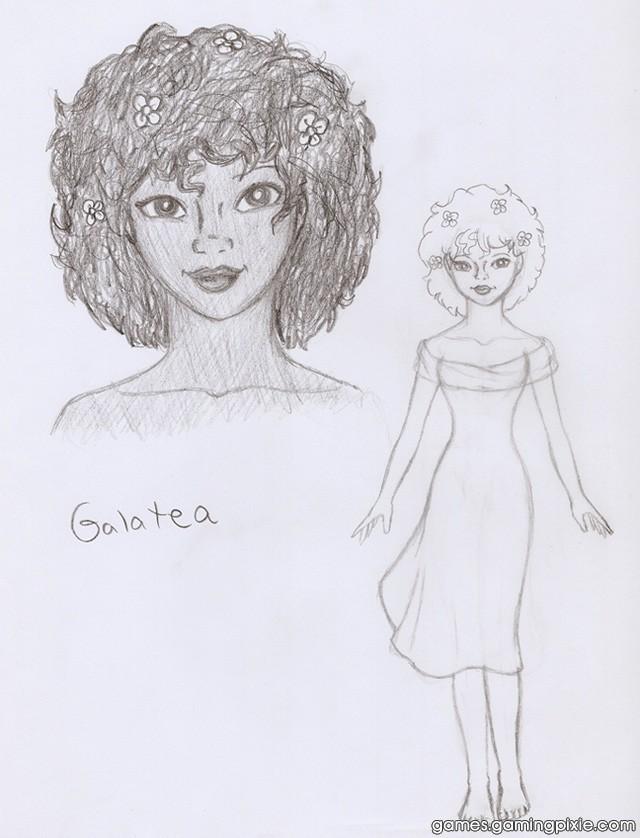 Galatea Concept Sketch #1