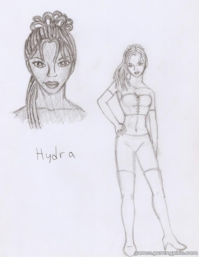 Hydra Concept Sketch #1